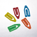 "Medium, 1 1/2"" Plastic Clips and Fasteners / Paper Clips"