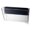 Wall File, Letter Size, Magnetic, Clear