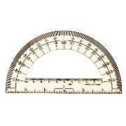 "Protractor 6"", Ruler, Bulk Pack"