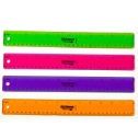 "12"" Flexible Plastic Ruler"