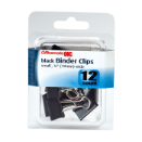 Small / Binder Clips, Black