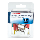 Small / Binder Clips, Assorted Colors