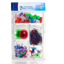 Clip Assortment Pack, 192 Pieces