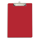 Recycled Plastic Clipboard, Red