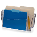 Unbreakable Wall File, 4-in-1, Clear