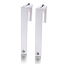 Partition Hangers for Unbreakable Wall Files, Letter/ Legal Size, White