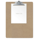 Wood Clipboard, Waybill Size