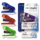 Translucent Mini Stapler with 1000 staples