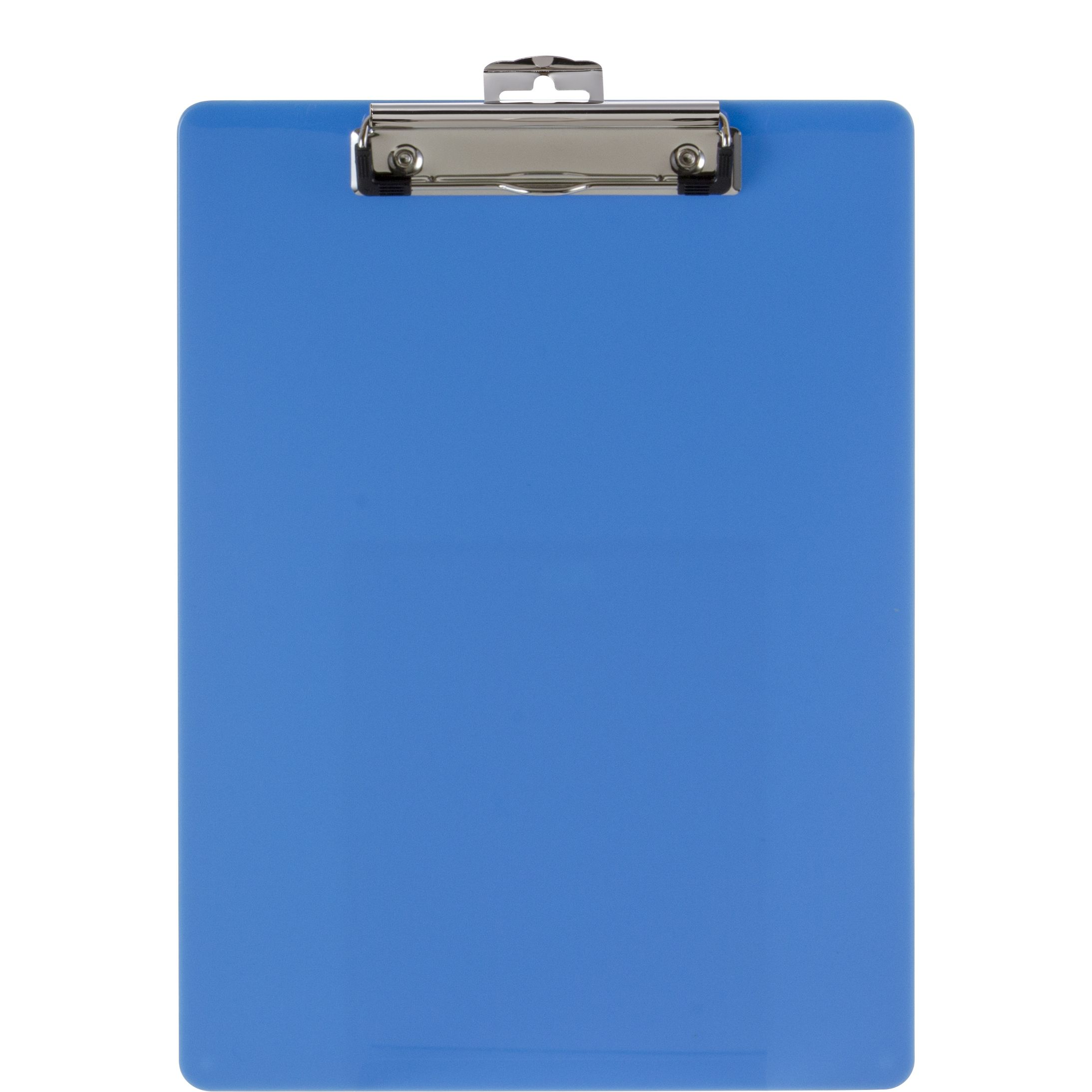 Recycled Plastic Clipboard Blue