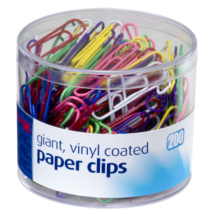 Vinyl Coated Clips And Fasteners Paper Clips Giant